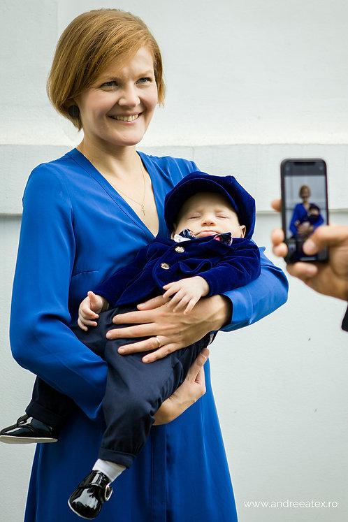 Costum Ralph - albastru (3luni-2ani)