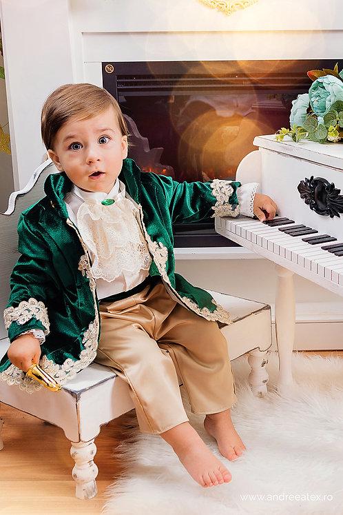 Fabrizio - verde (3 luni/6 luni/9 luni)