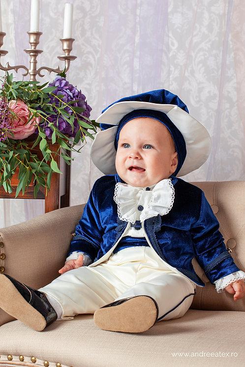 Micul Prinț - bleumarin(3luni/6 luni)