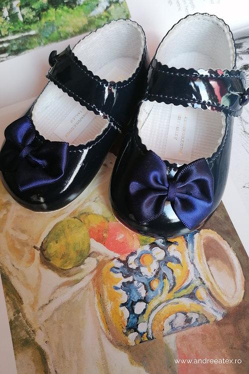 Pantofiori fetițe B604 /// bleumarin
