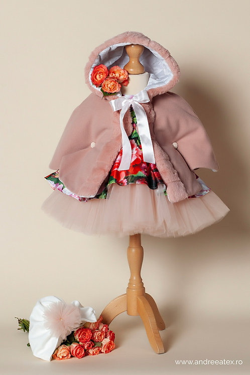 Lizzie- roz-vintage - (3l/6l/9-12l)