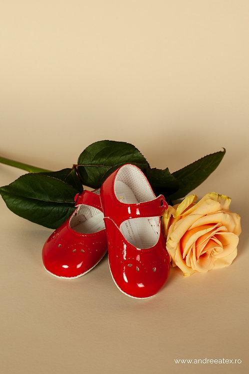 Pantofiori fetițe B612 /// roșu