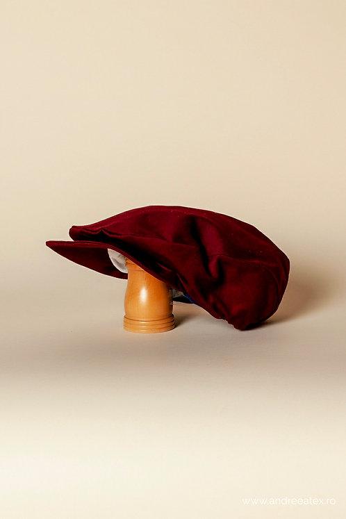 Șepcuță bumbac - burgundy