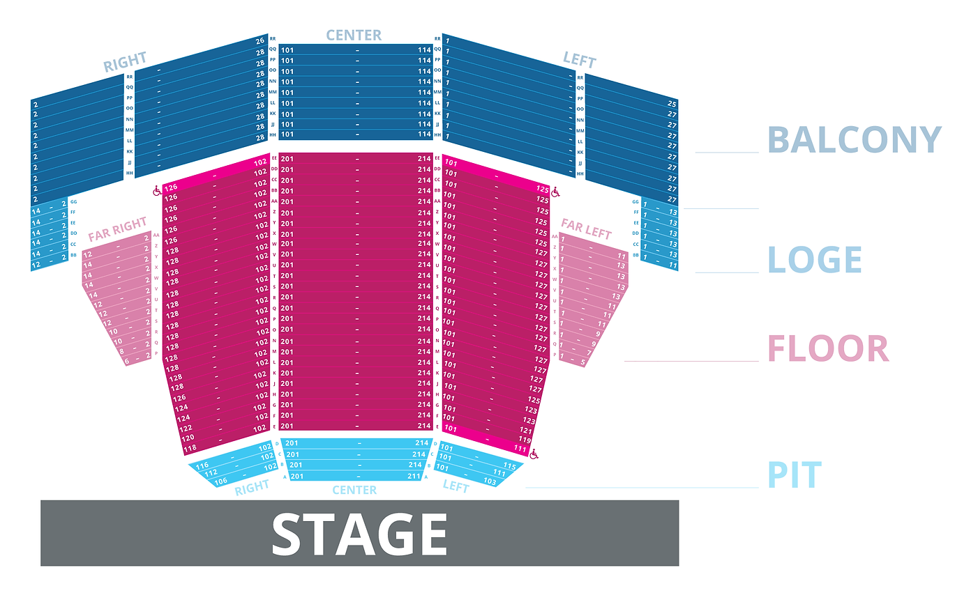 Civic Center Seating Chart Okc Bill Maher Concert Tickets