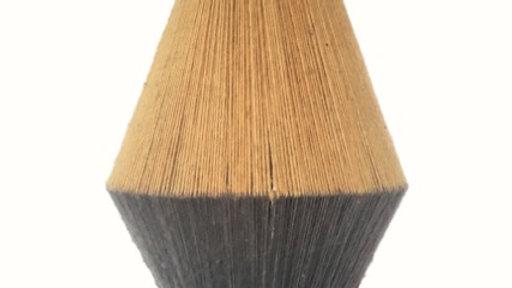 Calbuco Brown Onion Lamp