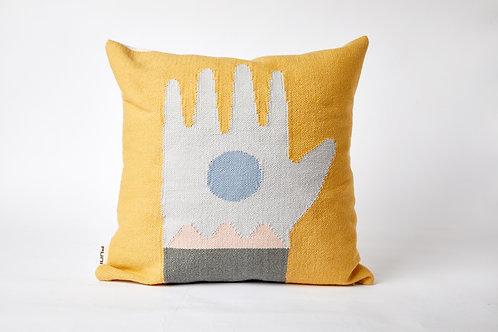 Yellow Ritual I Cushion