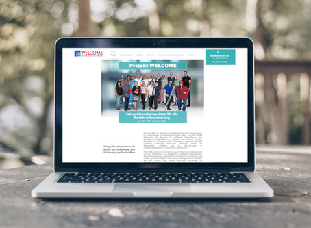 Die Webpräsenz des Projekts WELCOME ist jetzt online