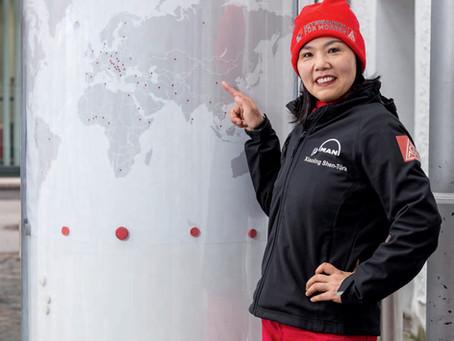 Integration in der Praxis - Ein Bericht über die Arbeit von WELCOME-Teilnehmerin Xiaoling Shen-Türk