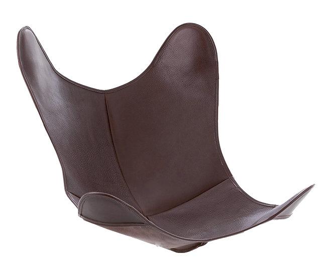 Housse en cuir Buffalo Chocolat