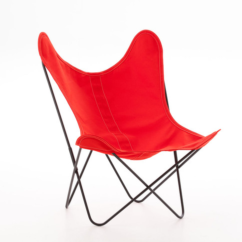 Fauteuil AA Airborne coton rouge