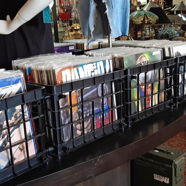 Vintage Vinyl Record Albums