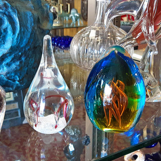 Antiques and Vintage Art Glass
