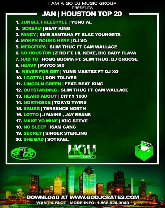 JXN TOP 20 GO DJS