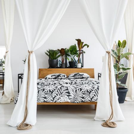 Bedroom Canopy Shades