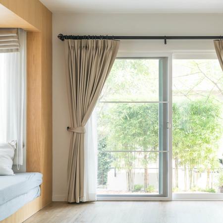 Curtains & Rod