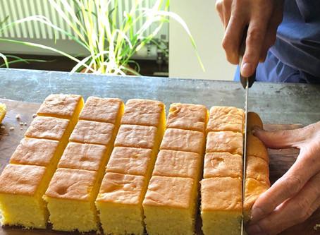 レシピ Q&A 「ケーキに小麦粉の粒が残ってしまいます。」