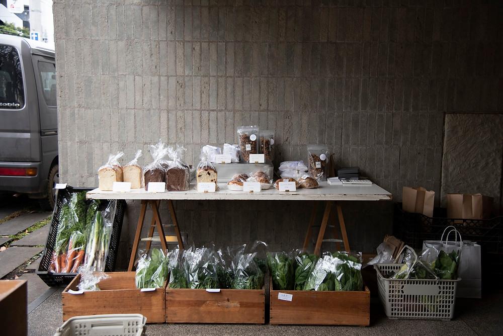 田中農園さんのファーマーズマーケット