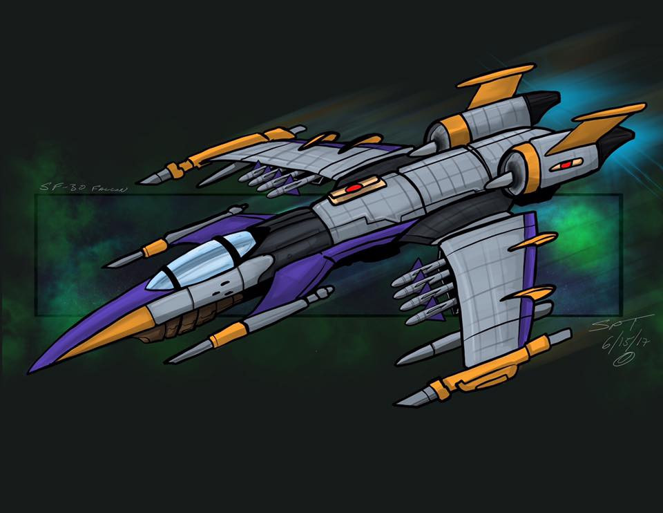 SF-30x Falcon Starfighter