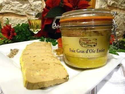 Foie gras d'oie entier (en bocal) 120g