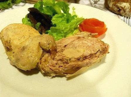 Caille maison au foie gras de canard 200g