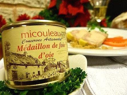 Médaillon de foie d'oie (boite) 200g