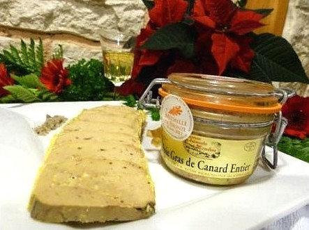 Foie gras de canard entier (en bocal) 120g