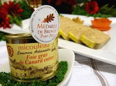 Foie gras de canard entier (en boite) 65g