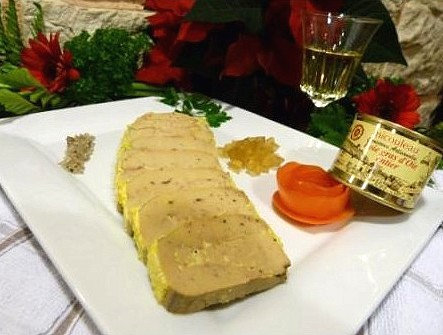 Foie gras d'oie entier (en boite)