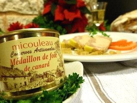 Médaillon de foie de canard, boite 200g