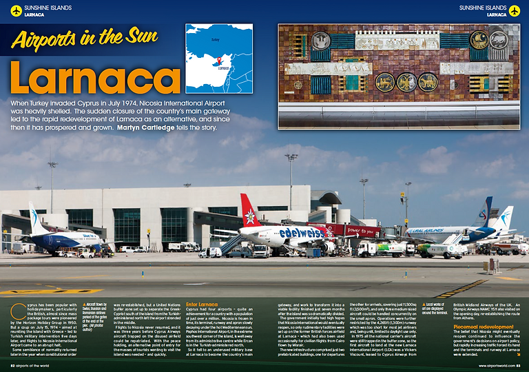 Airports in the Sun - Larnaca