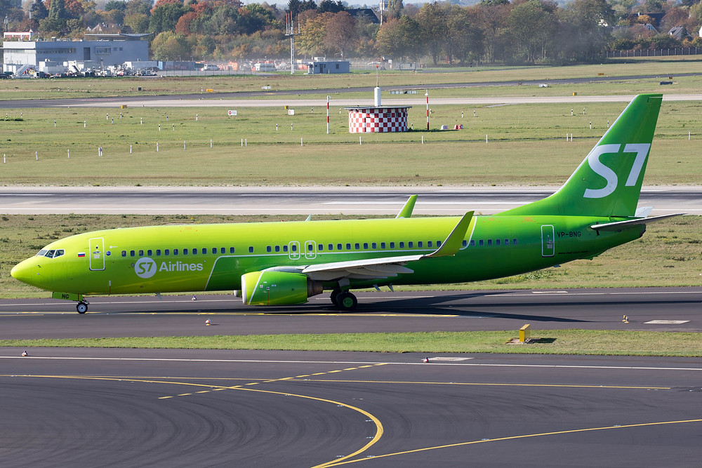 S7 Airlines 737-800
