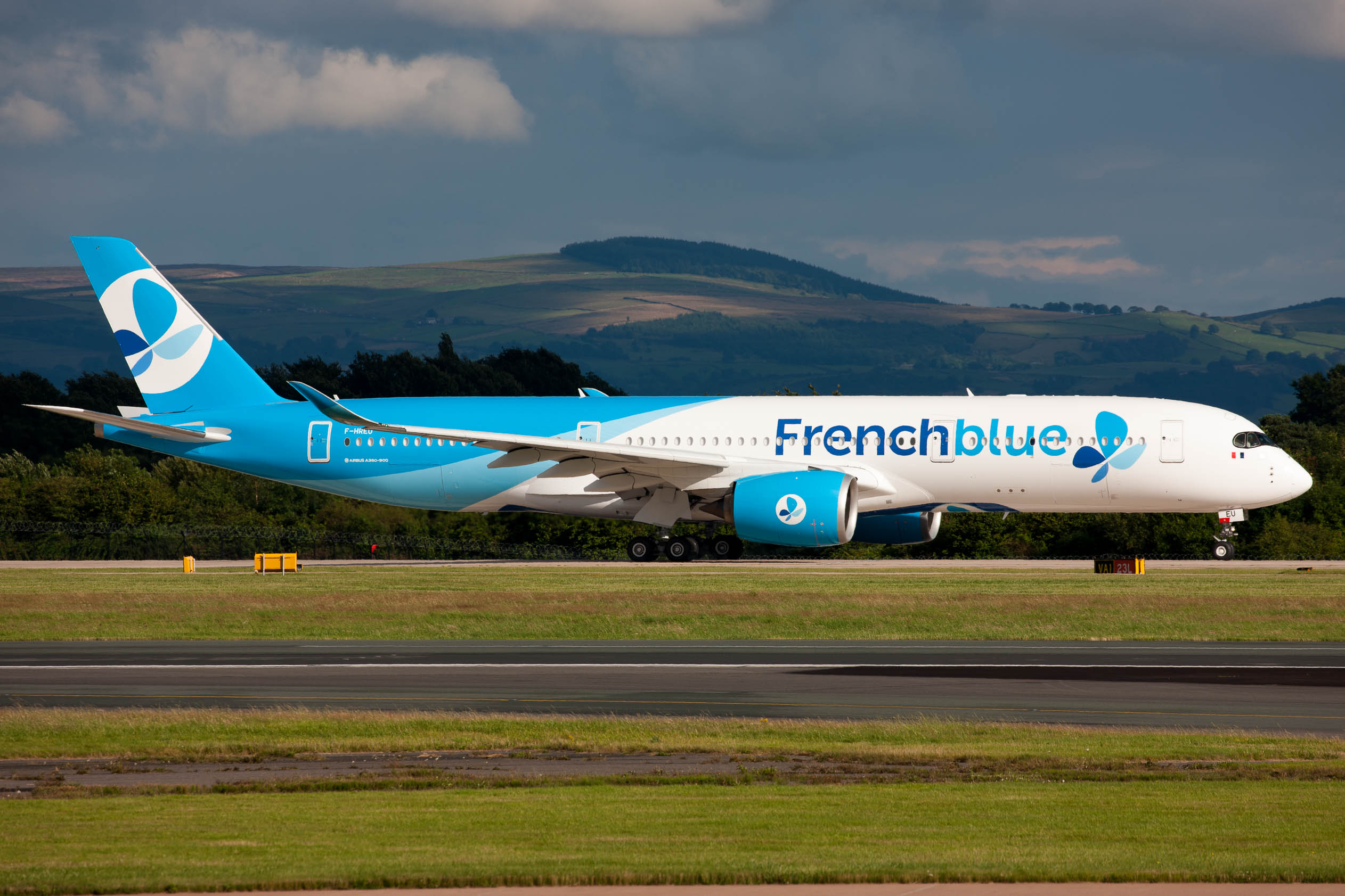 French Blue A350