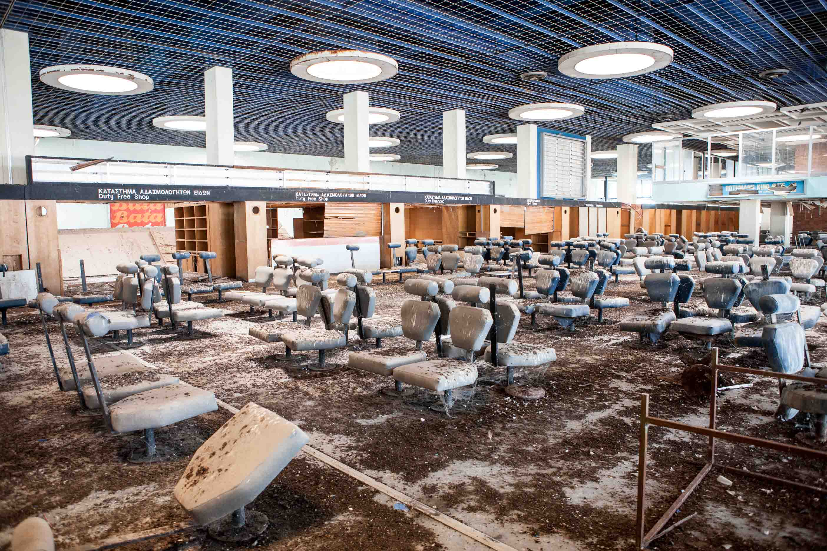 Nicosia departure lounge