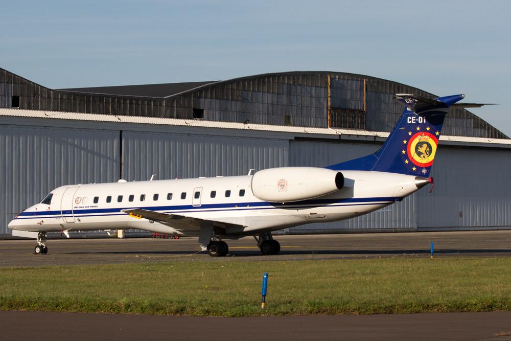 Belgian Airforce ERJ135