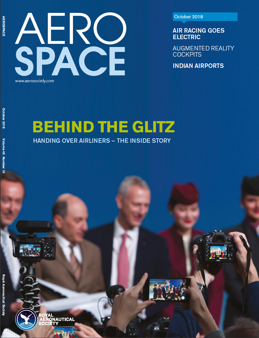 Cover of October Aerospace magazine