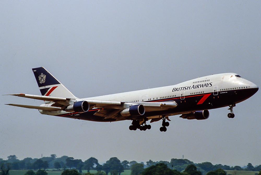 British Airways 747-200 Landor