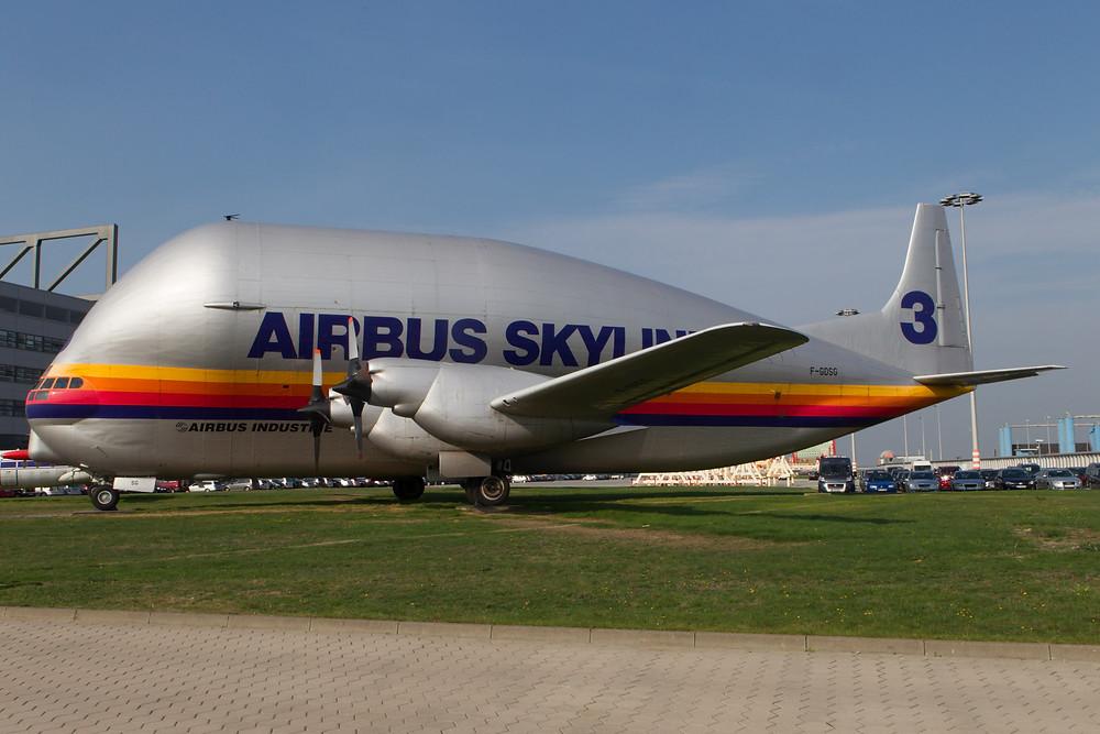 Airbus Skylink Super Guppy at Hamburg