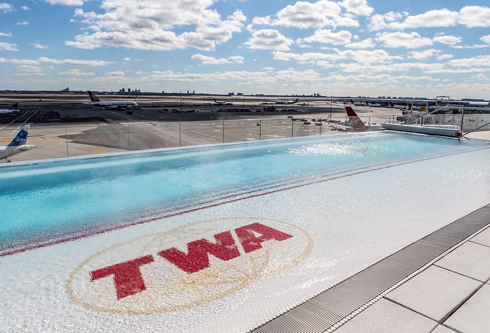 TWA Hotel rooftop pool
