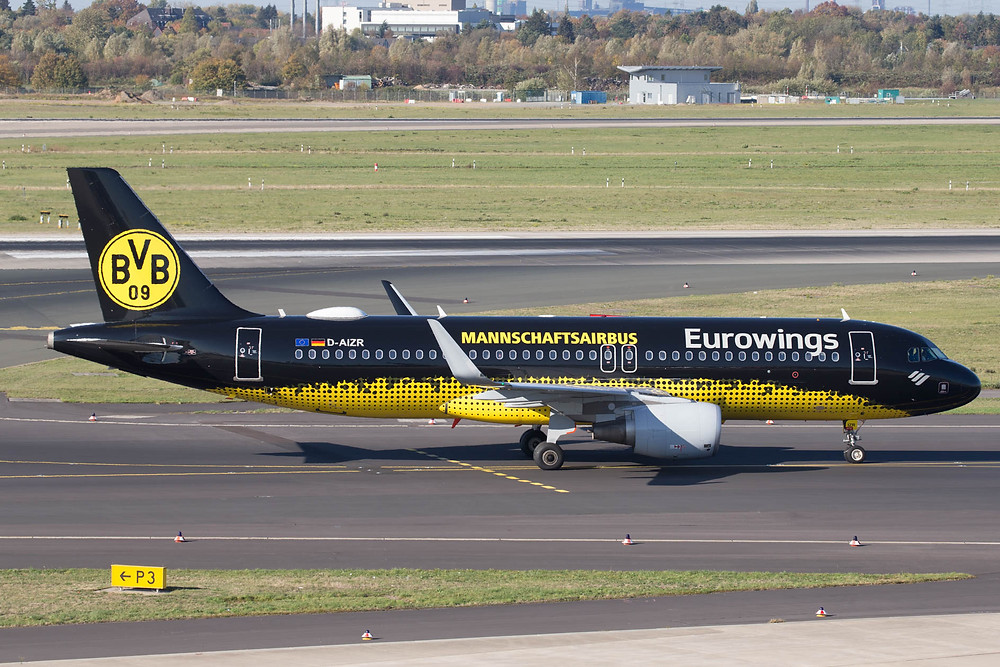 Eurowings Mannshaftsairbus A320