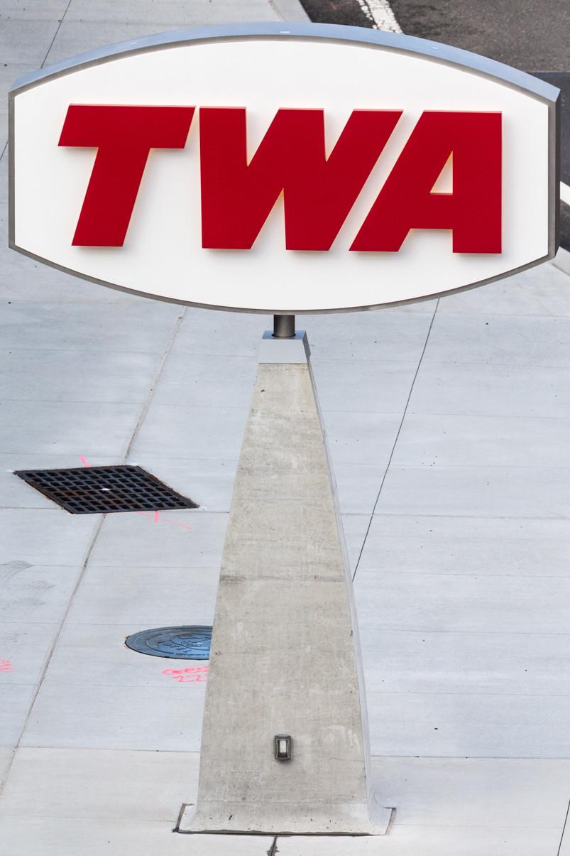 TWA sign