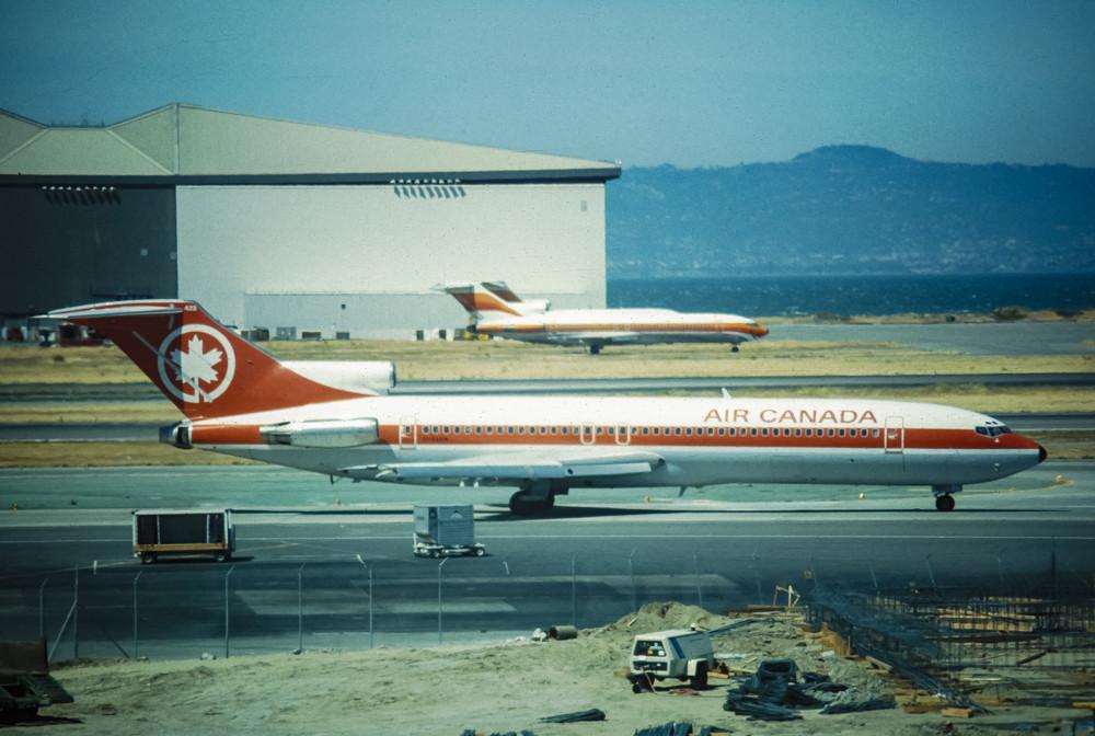 Air Canada boeing 727