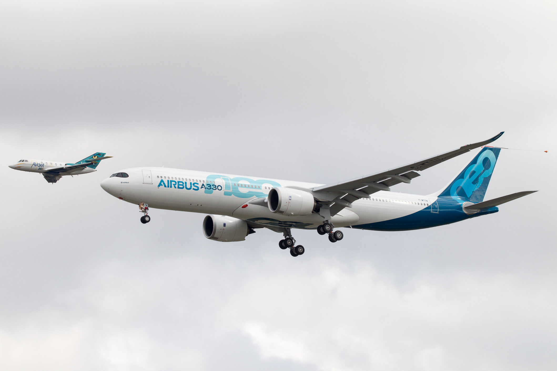 A330neo first flight