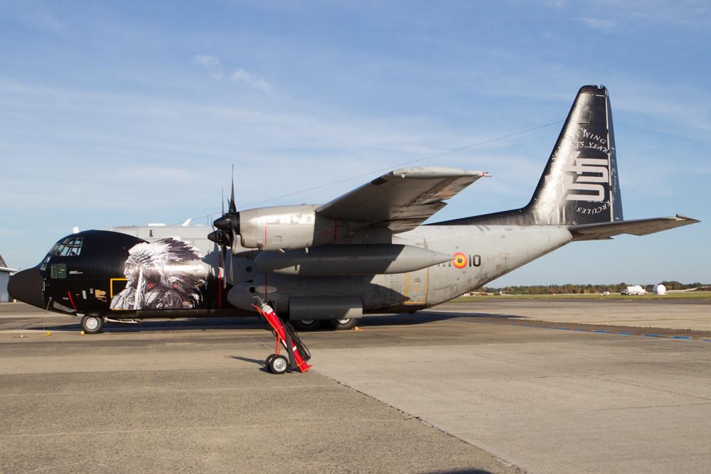 Belgian airforce c130