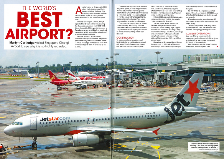 Changi The worlds best airport?