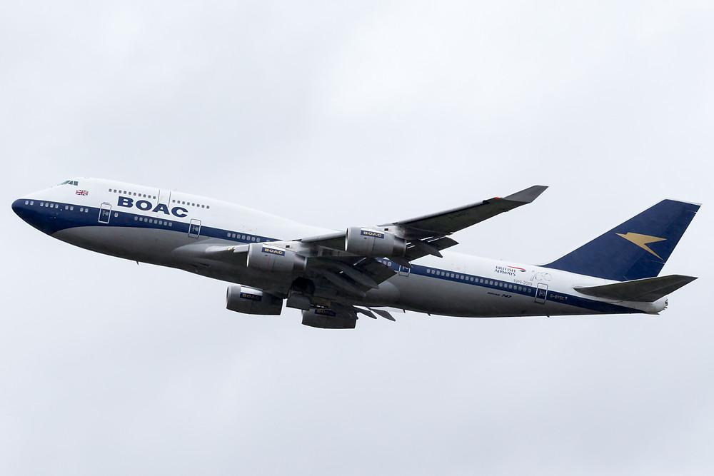 BA BOAC 747