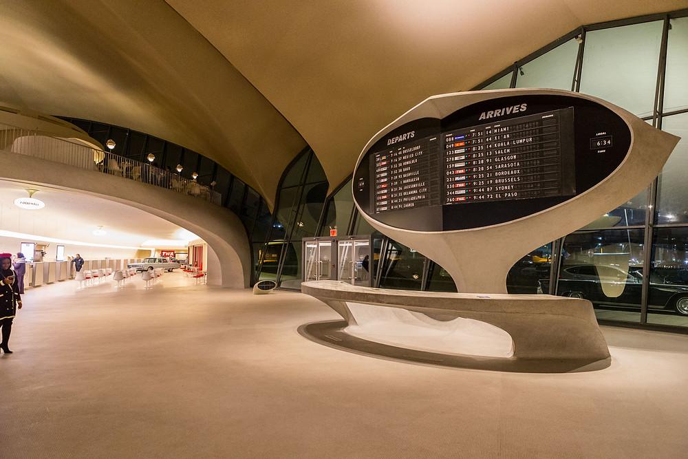 Solaris board in lobby