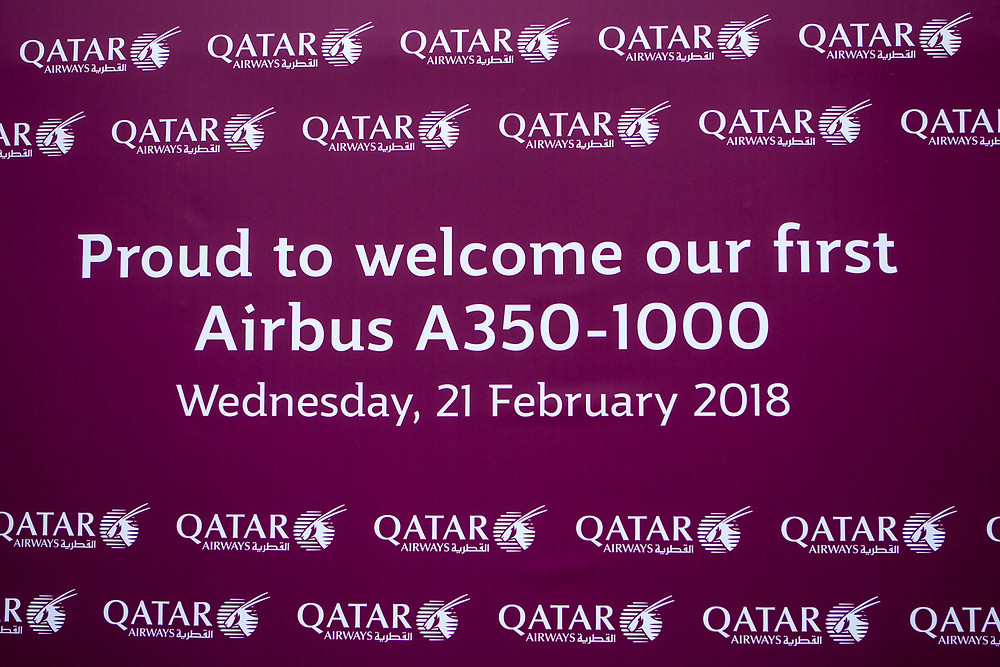 Aviation news. Qatar A350-1000