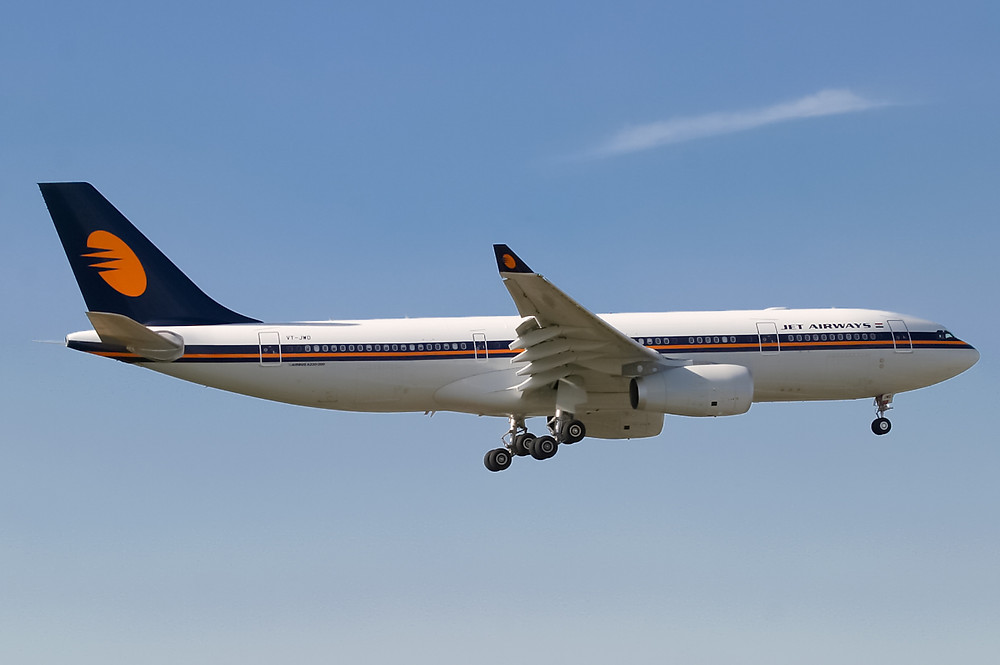 Jet Airways a330-200 Manchester to Mumbai