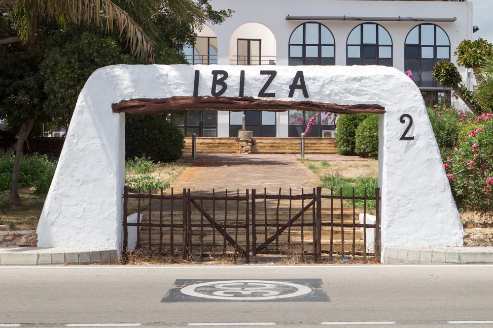 Old gate 2 at Ibiza airport