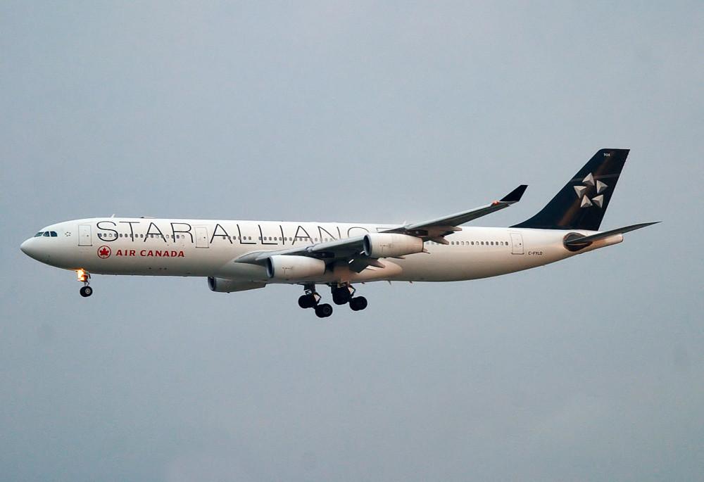 Air Canada start alliance a340
